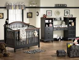 elegant black baby furniture sets featuring zebra area rug and faux cheetah chair and ottoman plus gray window treatment