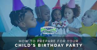 Child S Birthday Party Trampoline Birthday How To Prepare For Your Childs