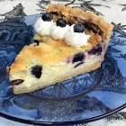 berry buttermilk pie