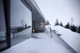 Concrete Cabin Concrete Snow Cabin By Filter Arkitekter Hiconsumption
