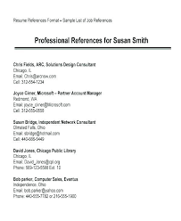 How To List References On A Cv Resume Reference List Template References Cv U2013