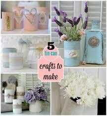 Small Picture Top Five Tin Can Crafts To Make Repurpose Upcycle and Craft
