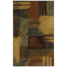 mohawk home montage rectangular multicolor accent rug common 3 ft x 5