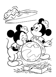 Mickey Mouse Kleurplaat Disney Kleurplaat Animaatjesnl