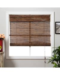 Chicology Faux Wood Blind Durable 2inch  Slats Detailed Wood 50 Inch Window Blinds
