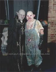 good homemade horror movie ideas. horror couple costume: count orlok and pig costume good homemade movie ideas c