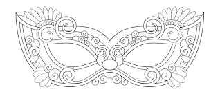 Maschera Di Zorro Da Colorare Migliori Pagine Da Colorare