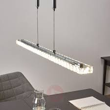 pendant lighting height. Height-adjustable LED Crystal Pendant Lamp Sesilia-9979021-02 Lighting Height G