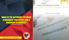 Barangay Certificate Image Gallery Hcpr