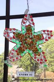 Christmas Decorations Made Out Of Plastic Bottles Christmas Lantern Made from Recycled Materials Contest Photos by 79