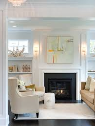 city homes house in edina fireplace built