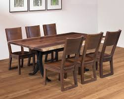 Redwood Forest Dining Table Chairs Homesquare Furniture