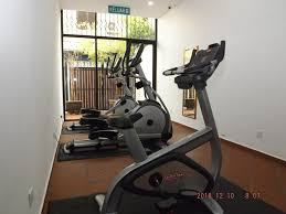 the fitness center and or fitness facilities at heeren straits hotel