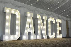 Giant Light Up Letters Giant Light Up Letters Diamond Hire And Styling
