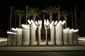 chris burden s urban light at lacma in los angeles ca 2008