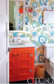orange bathroom. colorful bathroom vanities - orange vanity from cottages \u0026 gardens