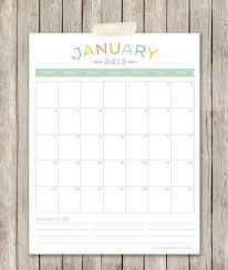 Simple 2015 Calendar Free Printable 2015 Calendars