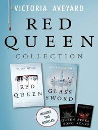 books red queen collection by victoria aveyard