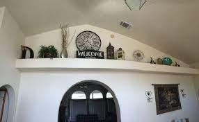 ledge decor shelf decor living room