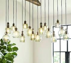 pottery barn light pendants glass pendant inside ideas instructions kit