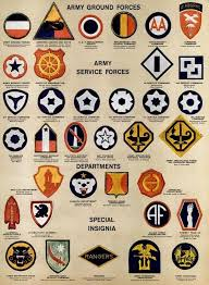 See Dozens Of Vintage Us Army Navy Shoulder Insignia Plus