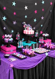 Decorative Stars For Parties Rockstar Birthday Party Rock Star Girl Rockstar Glam Ideas
