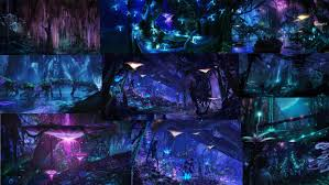 research into pandora the world of avatar alexandria adamson pandora night moodboard
