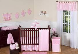 Sweet Jojo Designs Chenille Pink Collection 11-Piece Baby Crib Bedding Set