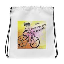 Artist Edition <b>Drawstring bag</b> / Artist - Margot House – BlueVanGogh