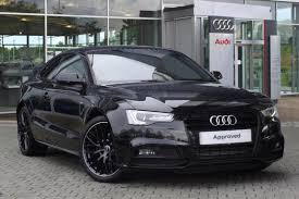 black audi 2015 a5. 2015 audi a5 20 tdi 177 black edition plus 2dr manual coupe 1