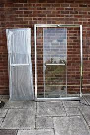 high quality shower enclosure frame with sliding glass doors