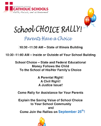 school choice rally on thursday brother rice high microsoft word civil rights flyer docx