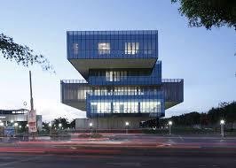 Glazed Cantilevered Buildings
