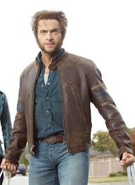 x men 3 wolverine leather jacket