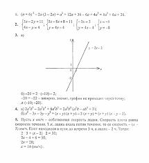 Итоговые контрольные работы ИК Задача Вариант Алгебра  Ответ на Итоговые контрольные работы ИК 1 Задача Вариант 1