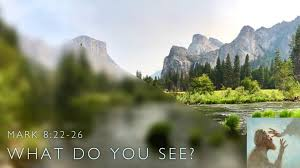 Image result for Mark 8:22-26 pictures