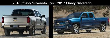 2016 Chevy Silverado vs 2017 Chevy Silverado