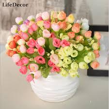 Aliexpresscom  Buy Vase Flowers Artificial Silk Flower Basket Artificial Flower Decoration For Home