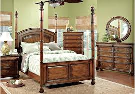 cindy crawford key west bedroom furniture for a key west king dark pine poster bedroom