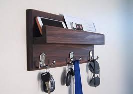 Coat Key Rack New Amazon Key Rack Mail Holder Organizer Entryway Storage With