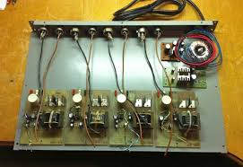 preamp analog audio repair laying out 4 channel mic preamp opto limiter