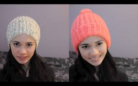 Crochet Winter Hat Pattern Gorgeous Super Easy Ribbed Crocheted HatBeanie YouTube