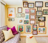 framed office wall art. creative office wall designs home eclectic with kids art framed picture t