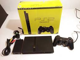 sony playstation 2 slim. sony playstation 2 ps2 slim console boxed u