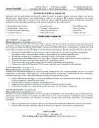 Human Resource Resume Objective Spectacular Hr Admin Resume Objective In Human Resource Management 96