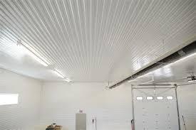 corrugated metal ceiling garage imgkidcom the