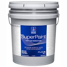 <b>Sherwin</b>-<b>Williams SuperPaint Interior</b> Acrylic Latex Flat greenguard