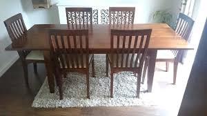 laura ashley dining tables dark chestnut extending dining table and 6 chairs laura ashley milton