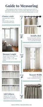 choose measure and install curtains in these 5 easy steps to create the perfect look for your home