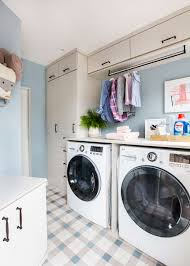 Easy Laundry Room Makeovers Our Laundry Room Makeover With Persil Emily Henderson